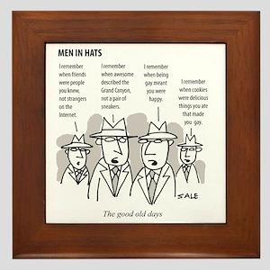 MEN_Good Days_Gay Cookies Framed Tile