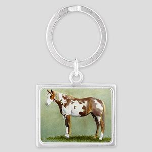 Paint horse Landscape Keychain