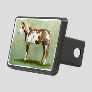 Paint horse Rectangular Hitch Cover