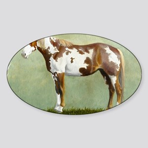 Paint horse Sticker (Oval)