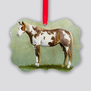 Paint horse Picture Ornament