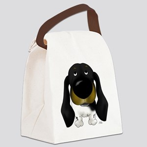 BlackDoxie5x7 Canvas Lunch Bag