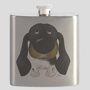 BlackDoxie5x7 Flask