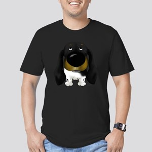 BlackDoxie5x7 Men's Fitted T-Shirt (dark)