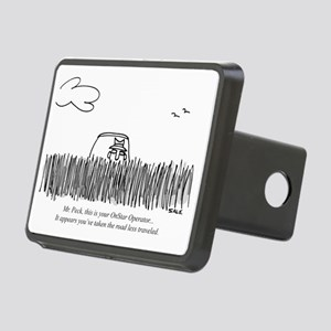 Road_Less_Traveled_GPS Rectangular Hitch Cover