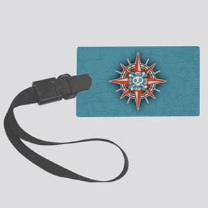 compass-3-OV Large Luggage Tag