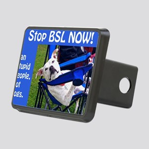 Norma Jean in Chair (blue) Rectangular Hitch Cover
