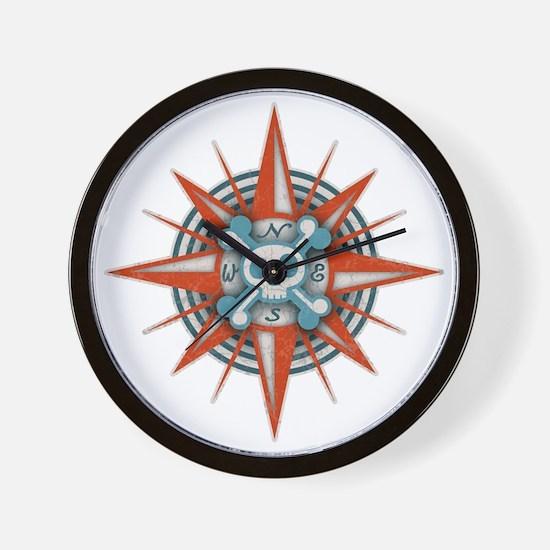 compass-3-T Wall Clock
