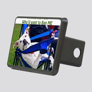Norma Jean Pittie the Fool Rectangular Hitch Cover