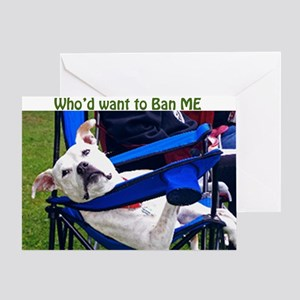 Norma Jean Pittie the Fool Greeting Card