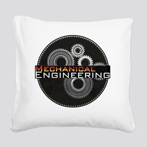 Mechanical Engineering Square Canvas Pillow
