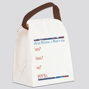 Retired Postal worker INVITE INSI Canvas Lunch Bag