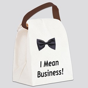 IMeanBusiness Canvas Lunch Bag