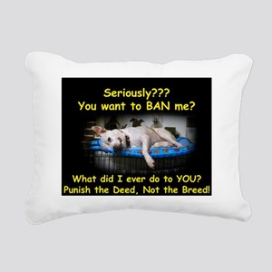 Norma on Crate BSL Rectangular Canvas Pillow