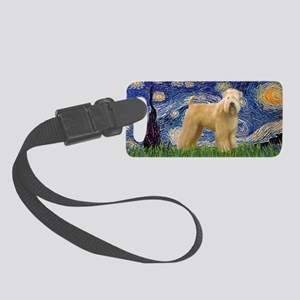 LIC-StarryNight-Wheaten(R) Small Luggage Tag