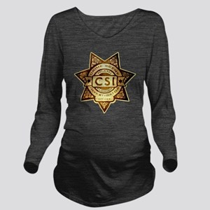 Badge.MIAMI Long Sleeve Maternity T-Shirt
