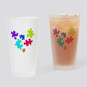 autistic_12 Drinking Glass