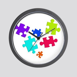 autistic_12 Wall Clock