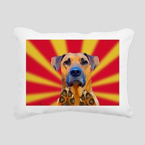 Bond Dog Rectangular Canvas Pillow