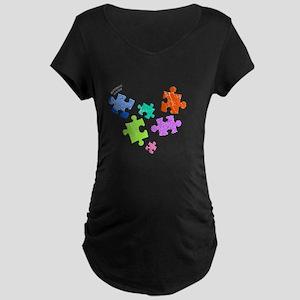 autistic_19 Maternity Dark T-Shirt