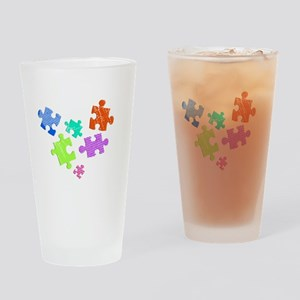 autistic_19 Drinking Glass