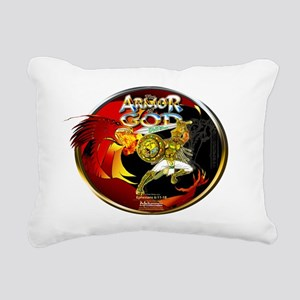 Mekonnen_ArmourOfGod_Rin Rectangular Canvas Pillow