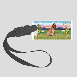 LIC - Summer Field - Golden (B) Small Luggage Tag