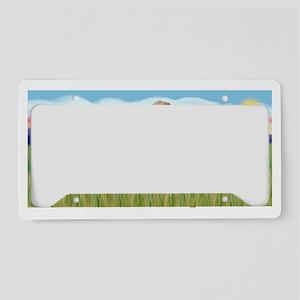 LIC - Summer Field - Golden ( License Plate Holder