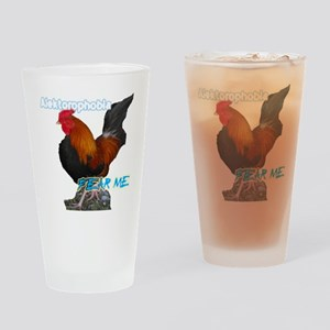 ROOSTERFEAR Drinking Glass