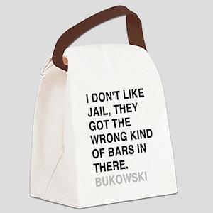 bukowski3 Canvas Lunch Bag