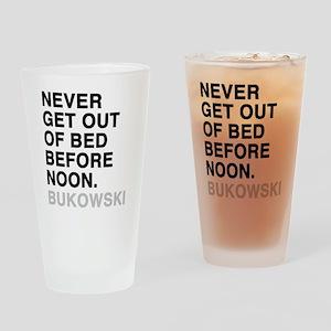 bukowski4 Drinking Glass