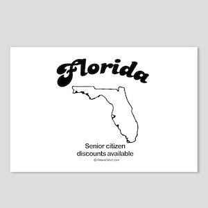 florida - senior citizen discounts available Postc