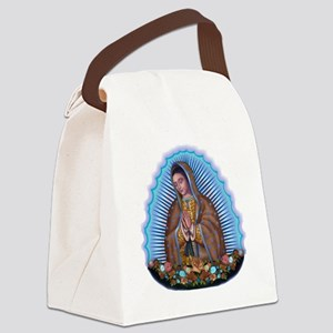 Lady of Guadalupe T5 Canvas Lunch Bag