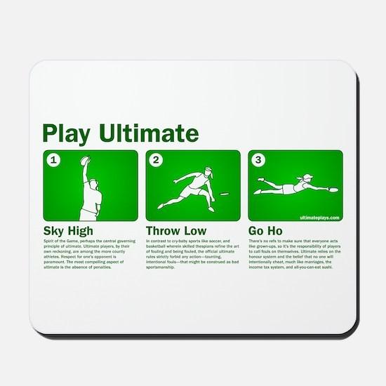 Play Ultimate Mousepad
