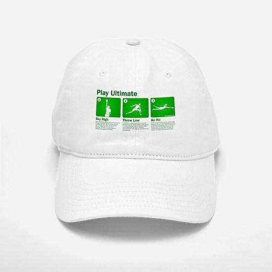 Play Ultimate Baseball Baseball Cap