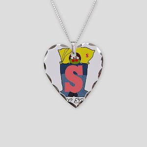 Super Socks Necklace Heart Charm