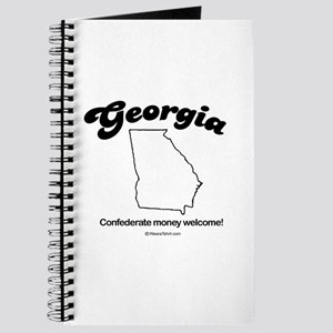 Georgia - confederate money welcome Journal