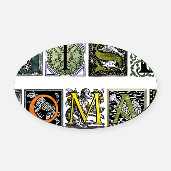 WiseWoman Oval Car Magnet