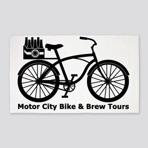 MCBBT bike 3'x5' Area Rug