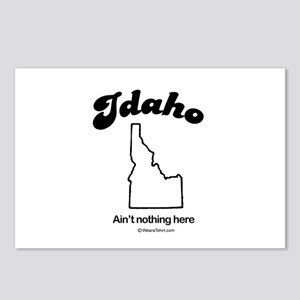Idaho -ain't nothing here Postcards (Package of 8)