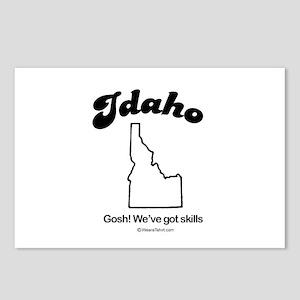 Idaho  - Gosh! we've got skills Postcards (Package