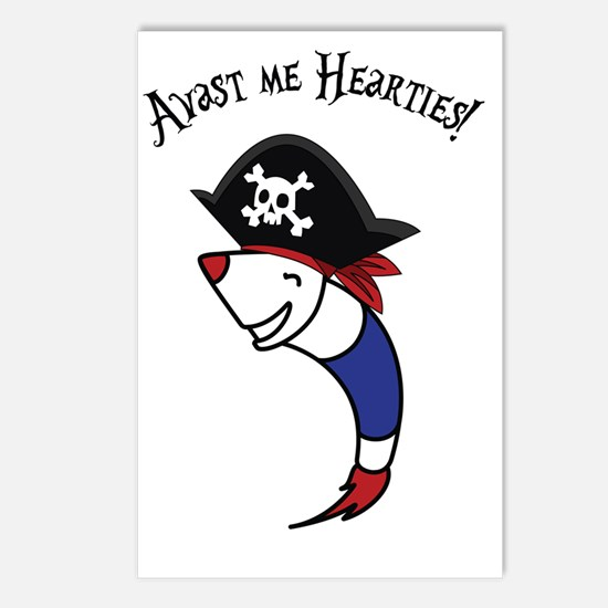 Pirate-Rocky-Me-Hearties- Postcards (Package of 8)