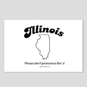 Illinois - please don't pronounce the s Postcards