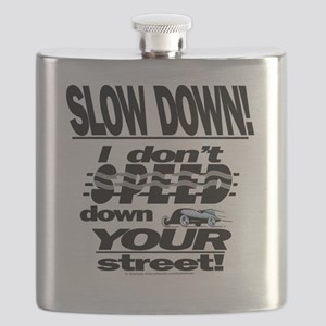 please dont speed sq blk Flask