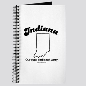 Indiana - our state bird is not larry Journal