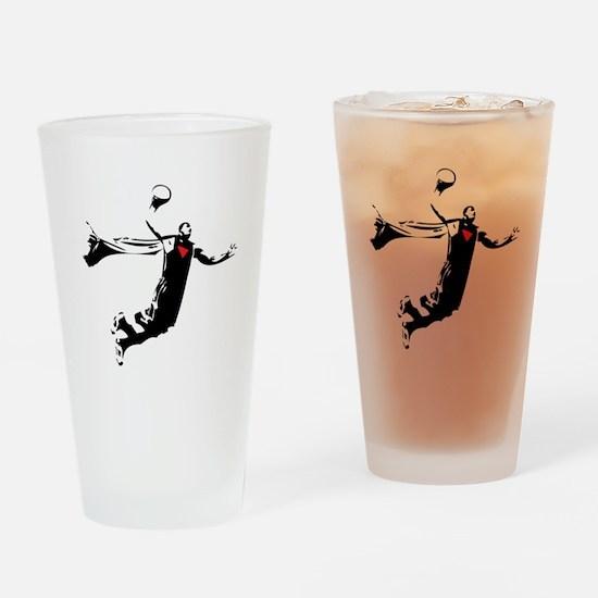 dwight2 Drinking Glass