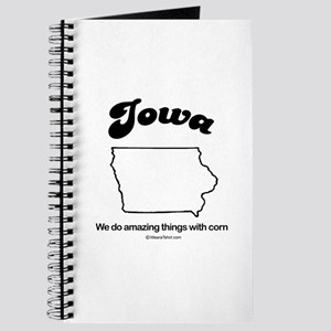 Iowa - we do amazing things with corn Journal