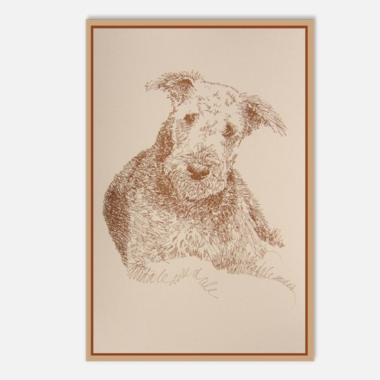 Airedale_KlineZ Postcards (Package of 8)