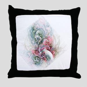 Apophysis Fractile Fire Throw Pillow