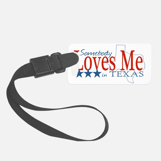 LovesMeTexas Luggage Tag